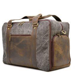 Дорожная комбинированая сумка Canvas и Crazy Horse RG-3032-4lx бренда TARWA - фото сумки 2