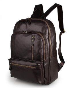 Фотография - Рюкзак кожаный TIDING BAG 7313Q - номер 4
