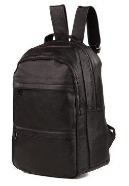 Фотография - Рюкзак кожаный Tiding Bag A25-333A - номер 4