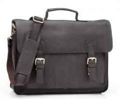 Фотография - Мужской кожаный портфель TIDING BAG G8870A - номер 4