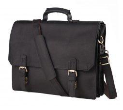 Фотография - Мужской кожаный портфель TIDING BAG GA2095A - номер 4