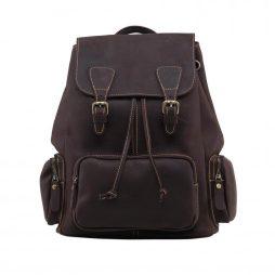 Фотография - Кожаный рюкзак TIDING BAG GW9913B - номер 4