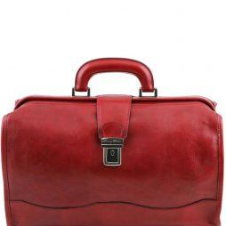 Сумка Tuscany Leather TL10077 Raffaello - Кожаный саквояж (Цвет - Красный) - картинка 1