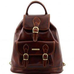 Сумка Tuscany Leather TL9039 Singapore - Кожаный рюкзак (Цвет - Коричневый) - картинка 1