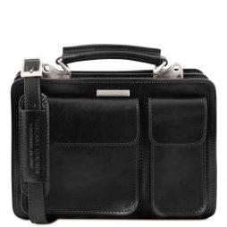 Сумка Tuscany Leather TL141270 Tania - Женская кожаная сумка (Цвет - Черный) - картинка 1