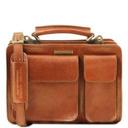 Сумка Tuscany Leather TL141270 Tania - Женская кожаная сумка (Цвет - Мед) - картинка 1