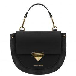 Сумка Tuscany Leather TL141882 Talia - Leather handbag (Цвет - Черный) - картинка 1