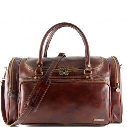 Сумка Tuscany Leather TL1048 Praga - Дорожная кожаная сумка (Цвет - Коричневый) - картинка 1