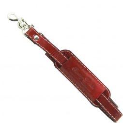Сумка Tuscany Leather SP141028 Регулируемый кожаный ремень на плечо для дорожных сумок (Цвет - Красный) - картинка 1