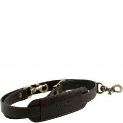Сумка Tuscany Leather SP141276 TL Voyager - Adjustable leather shoulder strap (Цвет - Темно-коричневый) - картинка 1