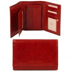 Сумка Tuscany Leather TL141314 Эксклюзивный кожаный бумажник для женщин (Цвет - Красный) - картинка 1