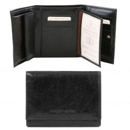 Сумка Tuscany Leather TL140790 Эксклюзивный кожаный бумажник для женщин (Цвет - Черный) - картинка 1