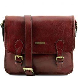 Сумка Tuscany Leather TL141288 TL Postman - Кожаная сумка мессенджер (Цвет - Коричневый) - картинка 1