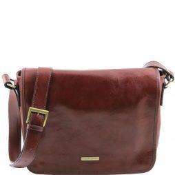 Сумка Tuscany Leather TL141301 TL Messenger - Кожаная сумка на плечо с 1 отделением - Средний размер (Цвет - Коричневый) - картинка 1