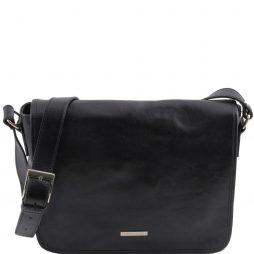 Сумка Tuscany Leather TL141301 TL Messenger - Кожаная сумка на плечо с 1 отделением - Средний размер (Цвет - Черный) - картинка 1