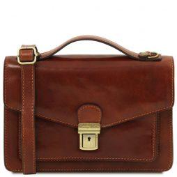 Сумка Tuscany Leather TL141443 Eric - Кожаная сумка через плечо (Цвет - Коричневый) - картинка 1