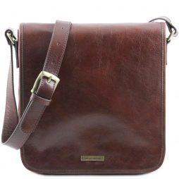 Сумка Tuscany Leather TL141260 TL Messenger - Кожаная сумка на плечо с 1 отделением - Большой размер (Цвет - Коричневый) - картинка 1