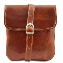 Сумка Tuscany Leather TL140987 Joe - Кожаная сумка через плечо (Цвет - Мед) - картинка 1