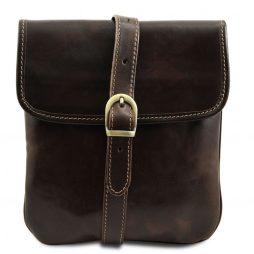 Сумка Tuscany Leather TL140987 Joe - Кожаная сумка через плечо (Цвет - Темно-коричневый) - картинка 1