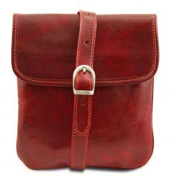 Сумка Tuscany Leather TL140987 Joe - Кожаная сумка через плечо (Цвет - Красный) - картинка 1