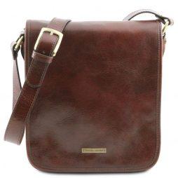 Сумка Tuscany Leather TL141255 TL Messenger - Кожаная сумка на плечо с 2 отделениями (Цвет - Коричневый) - картинка 1
