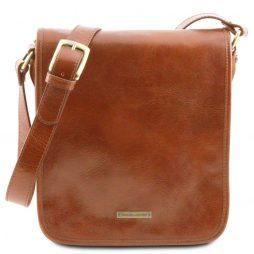Сумка Tuscany Leather TL141255 TL Messenger - Кожаная сумка на плечо с 2 отделениями (Цвет - Мед) - картинка 1