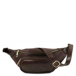 Сумка Tuscany Leather TL141797 Leather Fanny Pack (Цвет - Темно-коричневый) - картинка 1
