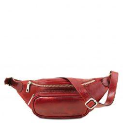 Сумка Tuscany Leather TL141797 Leather Fanny Pack (Цвет - Красный) - картинка 1