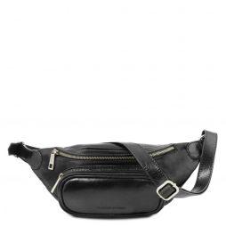 Сумка Tuscany Leather TL141797 Leather Fanny Pack (Цвет - Черный) - картинка 1