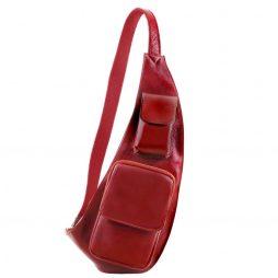 Сумка Tuscany Leather TL141352 Leather crossover bag (Цвет - Красный) - картинка 1