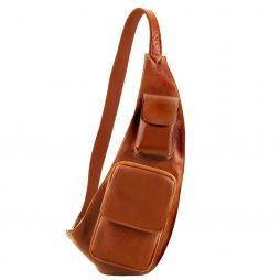 Сумка Tuscany Leather TL141352 Leather crossover bag (Цвет - Мед) - картинка 1