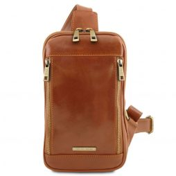 Сумка Tuscany Leather TL141536 Martin - Leather crossover bag (Цвет - Мед) - картинка 1