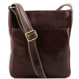 Сумка Tuscany Leather TL141300 Jason - Кожаная сумка через плечо (Цвет - Темно-коричневый) - картинка 1