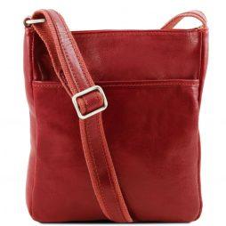 Сумка Tuscany Leather TL141300 Jason - Кожаная сумка через плечо (Цвет - Красный) - картинка 1