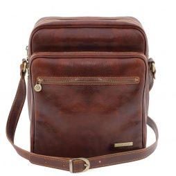 Сумка Tuscany Leather TL140680 Oscar - Эксклюзивная кожаная сумка через плечо (Цвет - Коричневый) - картинка 1