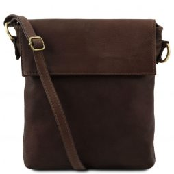 Сумка Tuscany Leather TL141511 Morgan - Кожаная сумка на плечо (Цвет - Темно-коричневый) - картинка 1