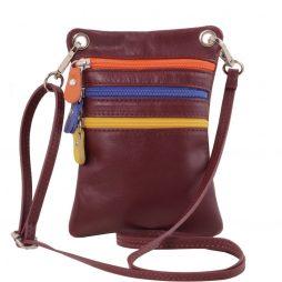 Сумка Tuscany Leather TL141094 TL Bag - Сумка-мини через плечо из мягкой кожи (Цвет - Bordeaux) - картинка 1