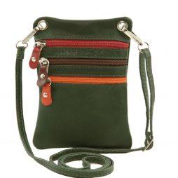 Сумка Tuscany Leather TL141094 TL Bag - Сумка-мини через плечо из мягкой кожи (Цвет - Forest Green) - картинка 1
