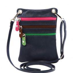 Сумка Tuscany Leather TL141094 TL Bag - Сумка-мини через плечо из мягкой кожи (Цвет - Темно-синий) - картинка 1