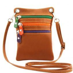 Сумка Tuscany Leather TL141094 TL Bag - Сумка-мини через плечо из мягкой кожи (Цвет - Коньяк) - картинка 1