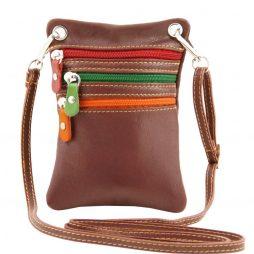 Сумка Tuscany Leather TL141094 TL Bag - Сумка-мини через плечо из мягкой кожи (Цвет - Коричневый) - картинка 1