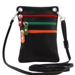 Сумка Tuscany Leather TL141094 TL Bag - Сумка-мини через плечо из мягкой кожи (Цвет - Черный) - картинка 1