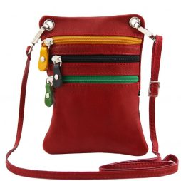 Сумка Tuscany Leather TL141094 TL Bag - Сумка-мини через плечо из мягкой кожи (Цвет - Красный) - картинка 1