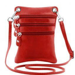 Сумка Tuscany Leather TL141368 TL Bag - Сумка-мини через плечо из мягкой кожи (Цвет - Красный) - картинка 1