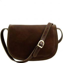 Сумка Tuscany Leather TL9031 Isabella - Женская кожаная сумка (Цвет - Темно-коричневый) - картинка 1