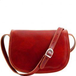 Сумка Tuscany Leather TL9031 Isabella - Женская кожаная сумка (Цвет - Красный) - картинка 1