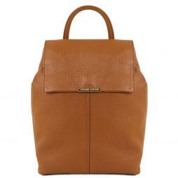 Сумка Tuscany Leather TL141706 TL Bag - Soft leather backpack for women (Цвет - Коньяк) - картинка 1