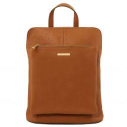 Сумка Tuscany Leather TL141682 TL Bag - Soft leather backpack for women (Цвет - Коньяк) - картинка 1