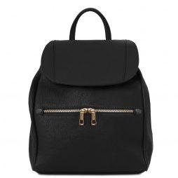 Сумка Tuscany Leather TL141697 TL Bag - Soft leather backpack for women (Цвет - Черный) - картинка 1