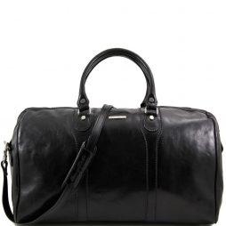 Сумка Tuscany Leather TL1044 Oslo - Дорожная кожаная сумка-даффл - Cумка weekender (Цвет - Черный) - картинка 1